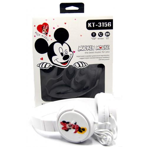 детские проводные наушники KTS-3156 Mickey Mouse