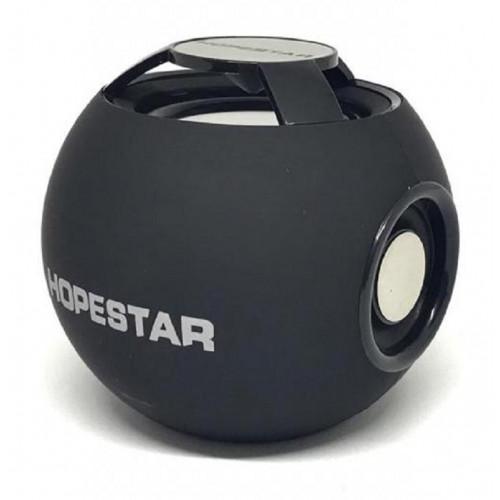 колонка HOPESTAR H46+Bluetooth+USB+SD+радио+аккумулятор (оригинал)