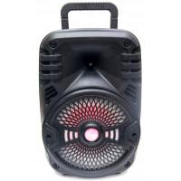 бумбокс+Bluetooth+USB+SD+радио+аккумулятор+светомузыка  ZQS-8108