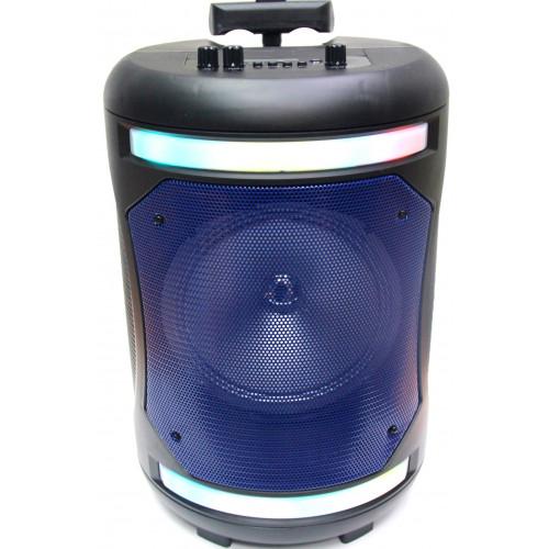 бумбокс+Bluetooth+USB+SD+радио+аккумулятор+микрофон+эквалайзер+светомузыка  ZQS-8115
