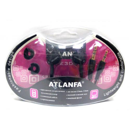 наушники+2 штекера+насадки ATLANFA AT-3096