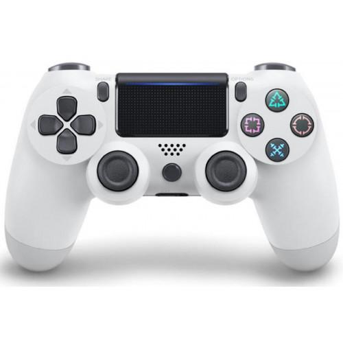 джойстик беспроводной PS4  белый