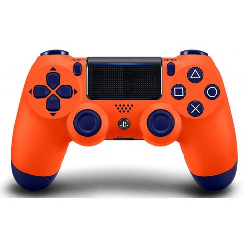 джойстик беспроводной PS4  оранжевый