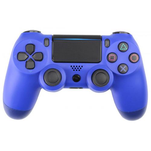 джойстик беспроводной PS4  синий