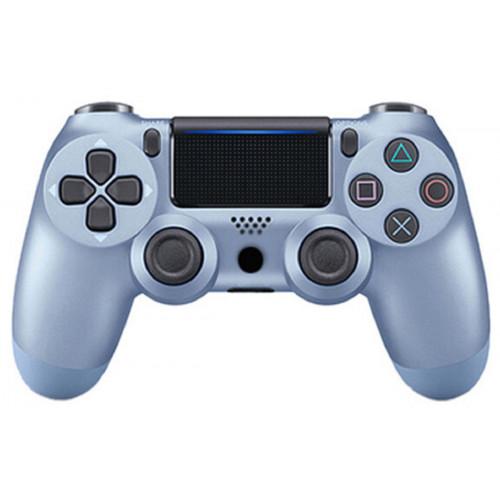 джойстик беспроводной PS4  синий титан