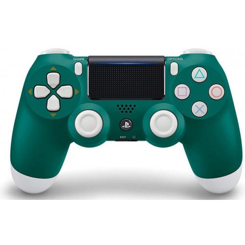 джойстик беспроводной PS4  темно-зеленый