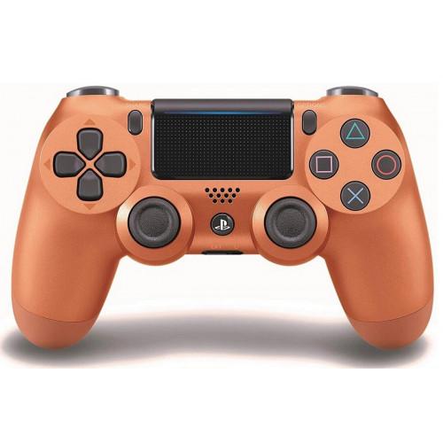 джойстик беспроводной PS4  золотой