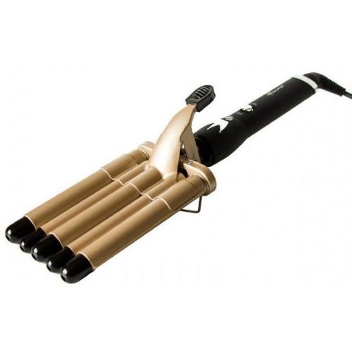 выпрямитель пятиволновая для завивки волос Gemei GM-2933