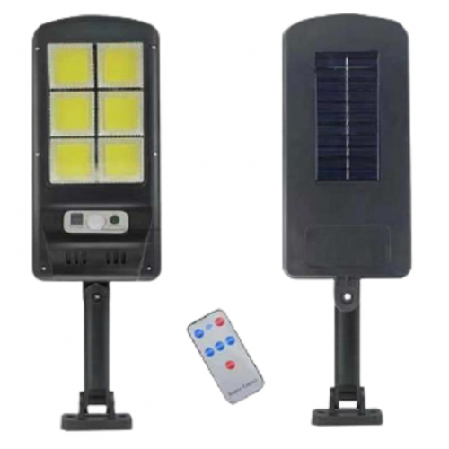 фонарик+прожектор+солнечная зарядка с датчиком движения YYC-GY-T06-6COB