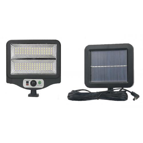 фонарик+прожектор+солнечная зарядка с датчиком движения YYC-GY-W780-2