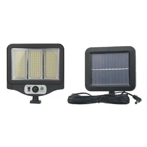 фонарик+прожектор+солнечная зарядка с датчиком движения YYC-GY-W780-3