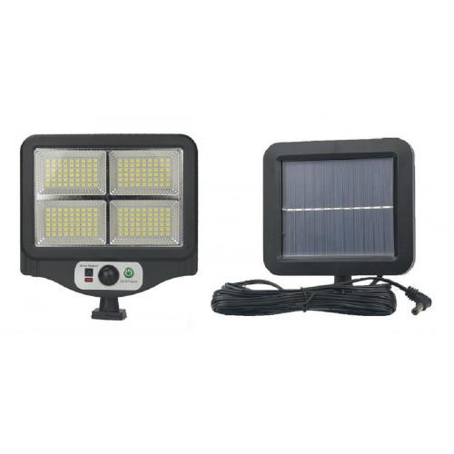 фонарик+прожектор+солнечная зарядка с датчиком движения YYC-GY-W780-4