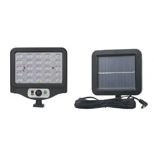 фонарик+прожектор+солнечная зарядка с датчиком движения YYC-GY-W780-5