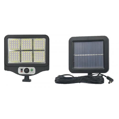 фонарик+прожектор+солнечная зарядка с датчиком движения YYC-GY-W780-6