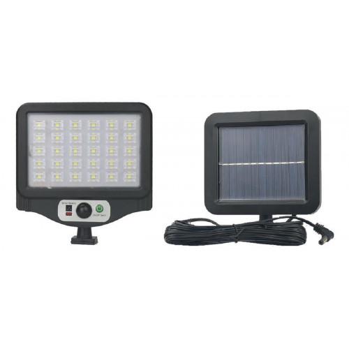 фонарик+прожектор+солнечная зарядка с датчиком движения YYC-GY-W780-7
