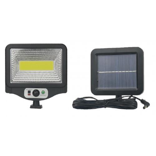 фонарик+прожектор+солнечная зарядка с датчиком движения YYC-GY-W781-1