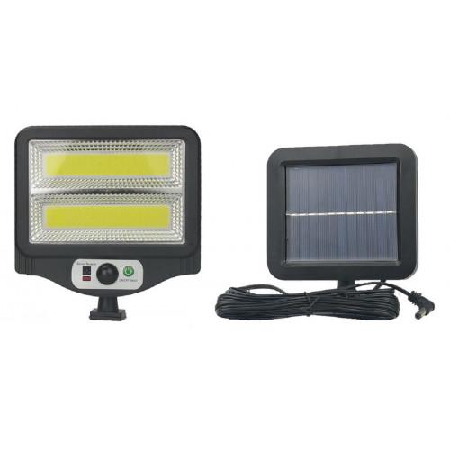 фонарик+прожектор+солнечная зарядка с датчиком движения YYC-GY-W781-2