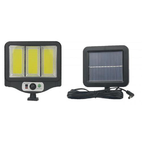 фонарик+прожектор+солнечная зарядка с датчиком движения YYC-GY-W781-3