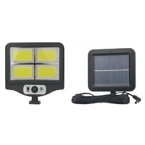фонарик+прожектор+солнечная зарядка с датчиком движения YYC-GY-W781-4