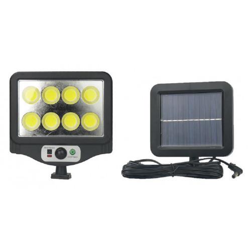 фонарик+прожектор+солнечная зарядка с датчиком движения YYC-GY-W781-8
