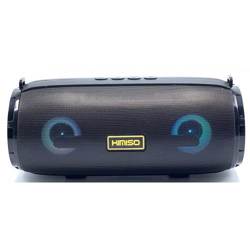 колонка KIMISO KM-201+Bluetooth+USB+радио+4 динамика+светомузыка+аккумулятор+Power Bank (1 сорт)
