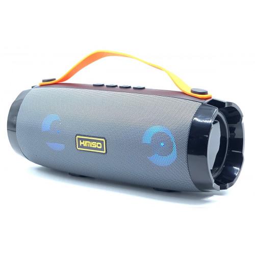колонка KIMISO KM-202+Bluetooth+USB+радио+4 динамика+светомузыка+аккумулятор+Power Bank (1 сорт)