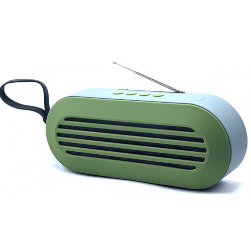 колонка LCN-613+Bluetooth+USB+радио+4 динамика+аккумулятор (1 сорт)