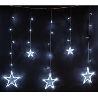 бахрома звезды (белые)