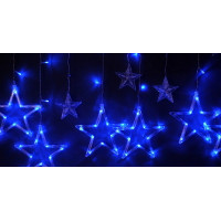 бахрома звезды (синие)