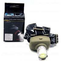 фонарик налобный MX-018-COB