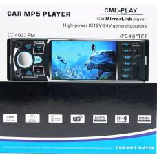 автомагнитола 4,1 дюйм+MP5+Bluetooth+USB+AUX+радио 4035UM