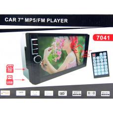 автомагнитола 2 DIN+сенсорный экран+MP5+Bluetooth+USB+AUX+радио 7040