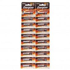 батарейки ENERGIZER R03 BL4 (6x12=72) ALKALINE