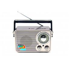 радиоприемник Ретро KEMAI MD-1176BT Bluetooth USB SD аккумулятор