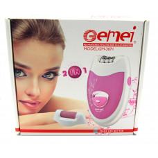 эпилятор женский 2в1 Gemei GM-3071