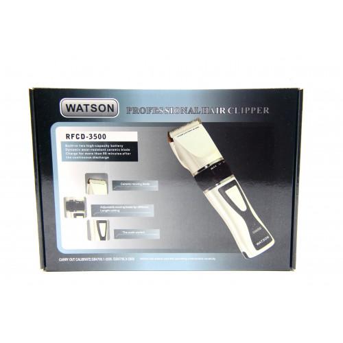 машинка для стрижки волос доп.аккумулятор сменные насадки Watson RFCD-3500