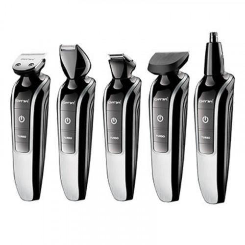 машинка для стрижки волос и бороды 3в1 Gemei GM-582