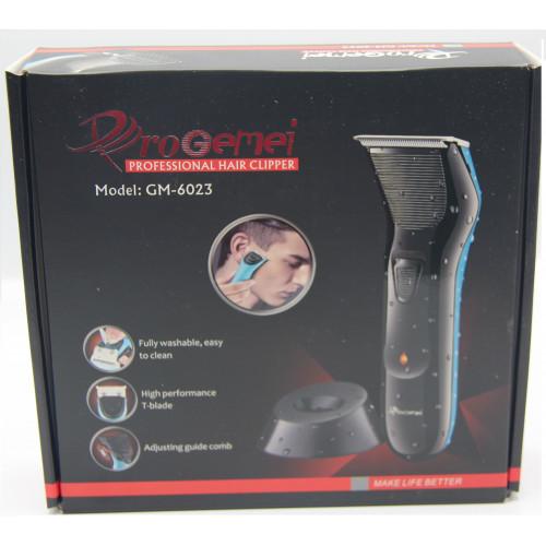 машинка для стрижки волос и бороды Gemei GM-6023