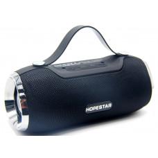 колонка HOPESTAR H40 Bluetooth USB SD радио 4 динамика аккумулятор (оригинал)