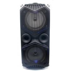 колонка чемодан 60см Bluetooth USB FM микрофон эквалайзер светомузыка аккум SY-1819