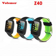 умные часы фитнес браслет Z40 (большой экран)