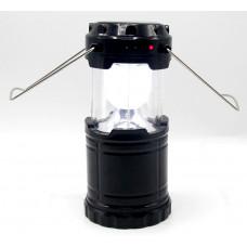 фонарик лампа зарядка от сети солнечная зарядка USB 3 режима G-85