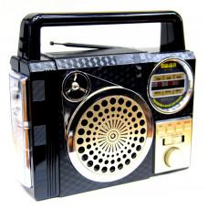 радиоприемник Meier USB SD фонарик аккумулятор M-170U