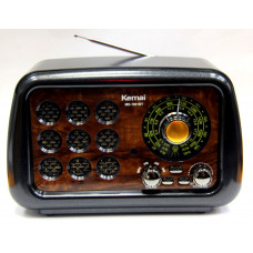 радиоприемник Ретро KEMAI Bluetooth USB SD аккумулятор MD-1901BT