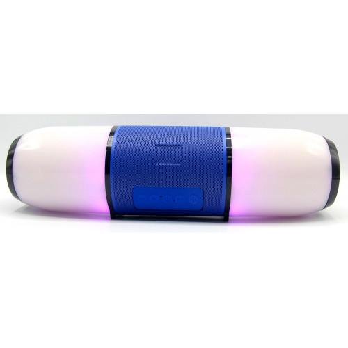 """""""колонка ME6 Bluetooth USB радио 4 динамика светомузыка аккумулятор Power Bank (1 сорт) """""""