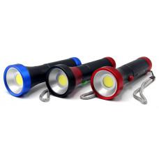 фонарик металлический MX-925 COB