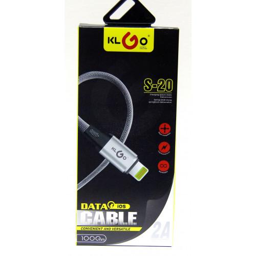 кабель iphone KLGO Awei S-20