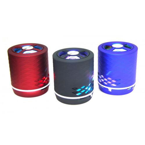 колонка светомузыка Bluetooth USB радио аккумулятор SLC-037