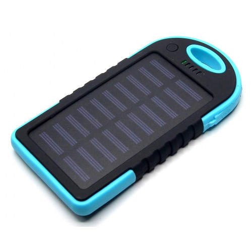 зарядка портативная Power Bank 2USB солнечная батарея фонарик CL01 8000 mAh