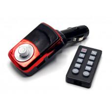 FM модулятор Bluetooth 2USB пульт DC24